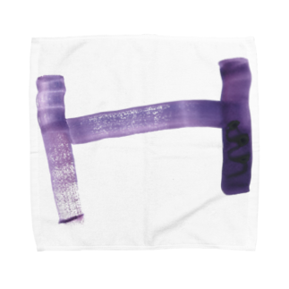 coroganuのH purple Towel handkerchiefs