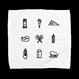 hanakumaの文房具 Towel handkerchiefs