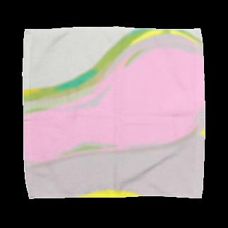 ComomoōのSalmon Towel handkerchiefs