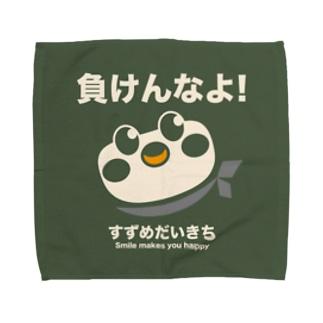 Hello! すずめだいきち Towel handkerchiefs