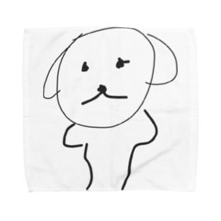 ゆるい犬 Towel handkerchiefs