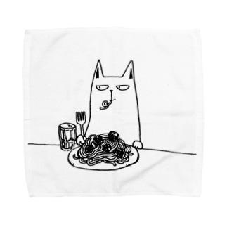 ミートボールスパゲティ Towel handkerchiefs