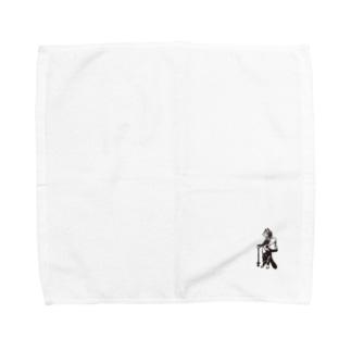 旅する猫グッズ Towel handkerchiefs
