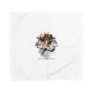 半立体イラスト『文化文政~BUNKA-BUNSEI~』 Towel handkerchiefs
