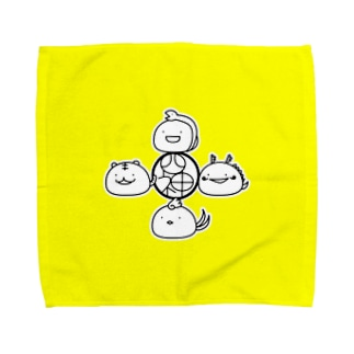 四神 Towel handkerchiefs