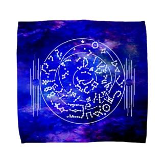 キトラ古墳天文図 Towel handkerchiefs