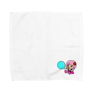 あいことばは『笑顔の魔法』 Towel handkerchiefs