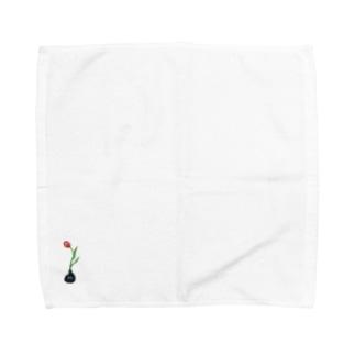 夢心地の花 Towel handkerchiefs