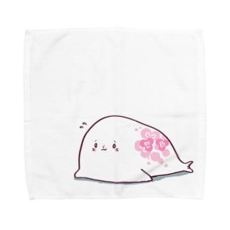 ミツバアザラシタオル Towel handkerchiefs