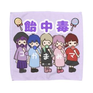 飴中毒ハンカチ Towel handkerchiefs