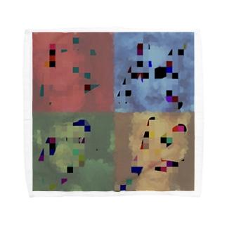 人気者 Towel handkerchiefs