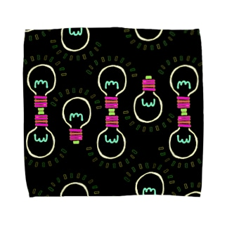 電球柄 Towel handkerchiefs