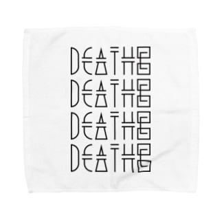 DEATH© / TOWEL handkerchief Towel handkerchiefs