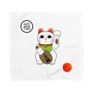 招き猫 / japan Towel handkerchiefs