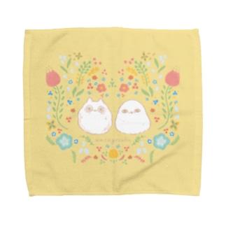 わたげずく!!&しろさん Towel handkerchiefs