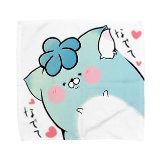 おねだりじんねこ Towel handkerchiefs