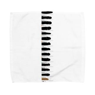 くらべてごらん Towel handkerchiefs