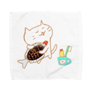 お魚スキスキ Towel handkerchiefs