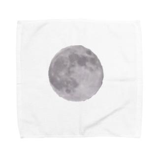 スーパームーン Towel handkerchiefs
