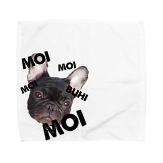 長与もいの、今日もブヒ!グッズ Towel handkerchiefs
