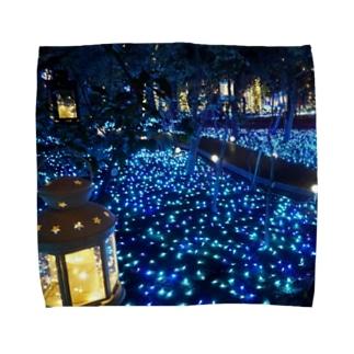 青い森 Towel handkerchiefs