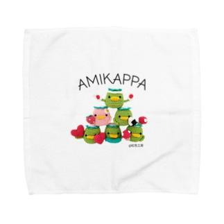 AMIKAPPA ピラミッド Towel handkerchiefs