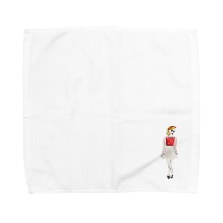 eno miyuのマーガレット Towel handkerchiefs