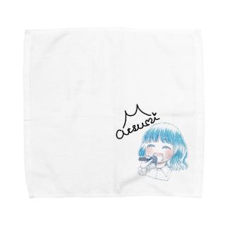 森川淳未☆オリジナルグッズ Towel handkerchiefs