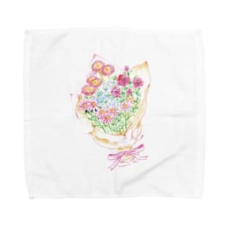 ひよ子のbouquet Towel handkerchiefs