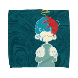 鈍痛 Towel handkerchiefs