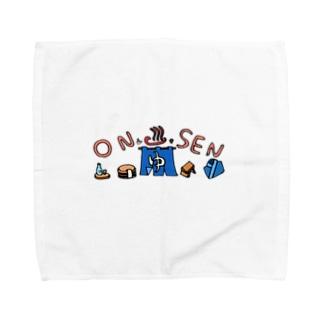 松岡雅士(마사시) きのこ 🍄の温泉浸かろ Towel handkerchiefs