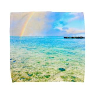 Goddess of the rainbow Towel handkerchiefs