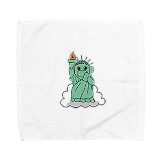 自由のおのくん Towel handkerchiefs