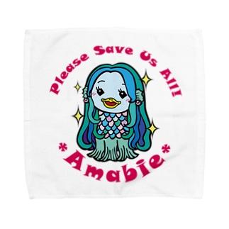 お願いアマビエちゃん Towel handkerchiefs
