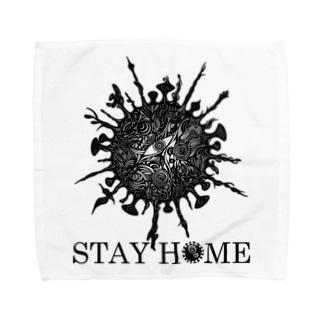STAY HOME -月蝕因子- Towel handkerchiefs