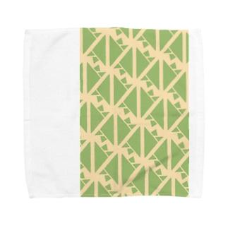 サーヴィエ行進曲 若竹 Towel handkerchiefs