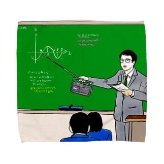 指し棒を節約する教師 Towel handkerchiefs