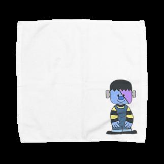 PSYCHのフランケン Towel handkerchiefs