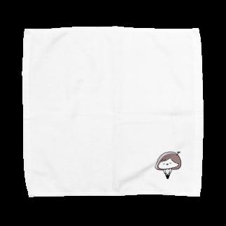 ゆるちこさんのおみせのゆるちこさん Towel handkerchiefs