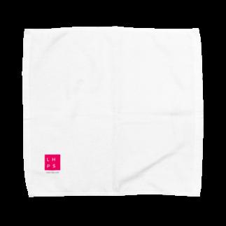 LHPSのLHPS ロゴ PINK Towel handkerchiefs