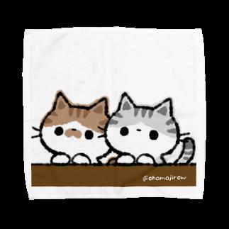 おはまじろうのお店のコハマ&コエリ猫グッズ Towel handkerchiefs