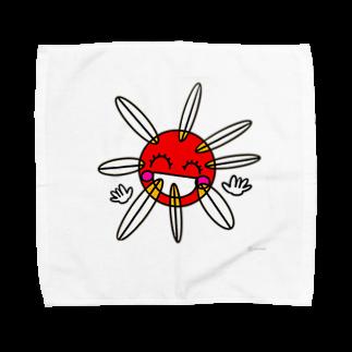 キャラ生み製造機の1. 『たいよう』 Towel handkerchiefs