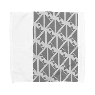 サーヴィエ行進曲 燻銀 Towel handkerchiefs