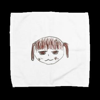 konsomeのニーちゃん Towel handkerchiefs