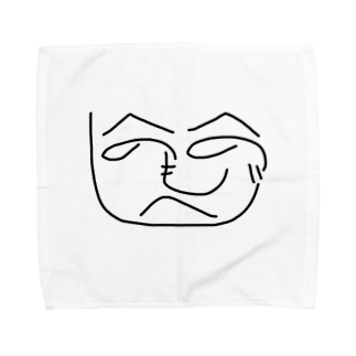 shape-of-heartのへのへのグッズ Towel handkerchiefs