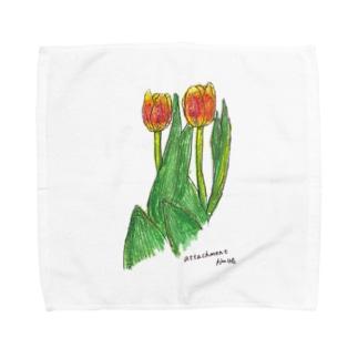 チューリップ Towel handkerchiefs