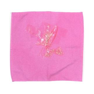折り紙など(3歳)3 Towel handkerchiefs