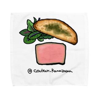 鶏の白レバーのパテ Towel handkerchiefs