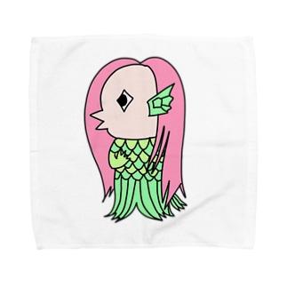 あいぴぴのアマビエ Towel handkerchiefs