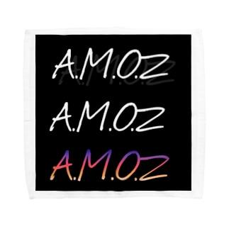 A.M.O.Z Face towel_Unique Logo Towel handkerchiefs